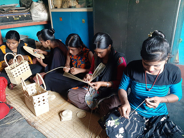 Supporting livelihoods of women artisans in COVID times